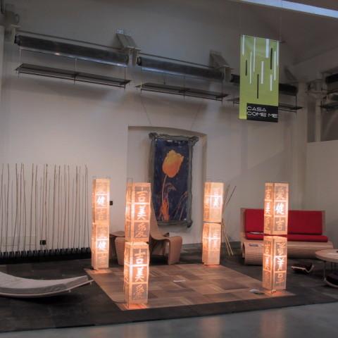 Giuseppe Finocchio - Stand espositivo al Salone del Mobile a Milano