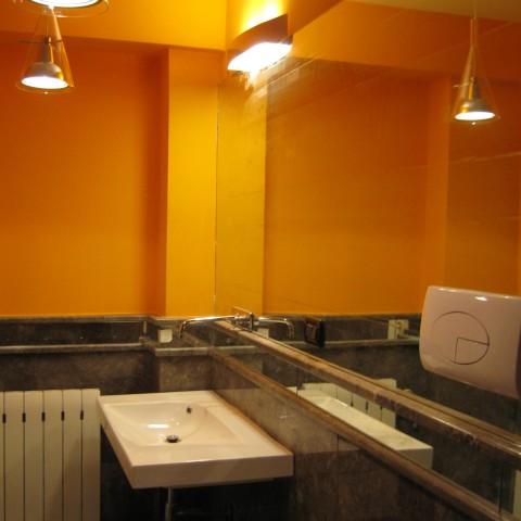 bagno interno villa Mondello
