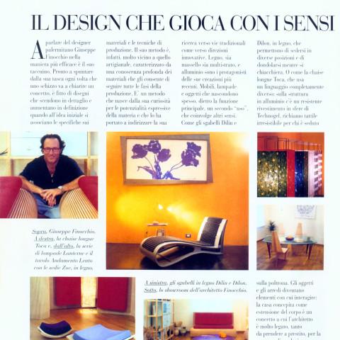 Giuseppe Finocchio - Articolo su rivista Ville e Casali