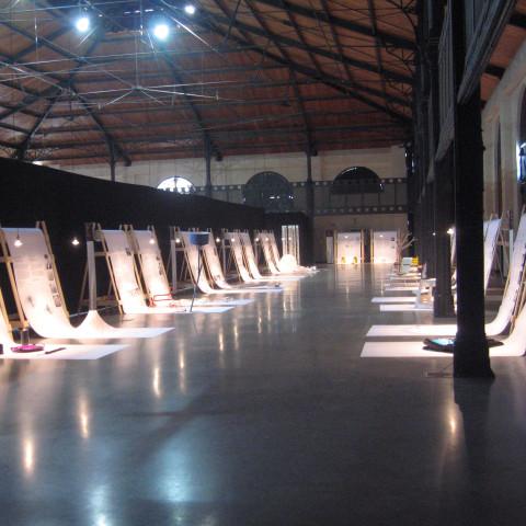 Giuseppe Finocchio - Progetto allestimento mostra a Palermo Storie di Design